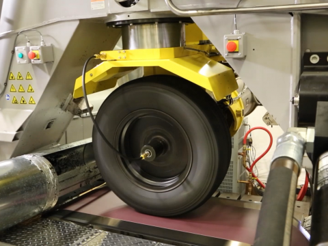 Flat-Trac Tire Force & Moment Measurement Systems