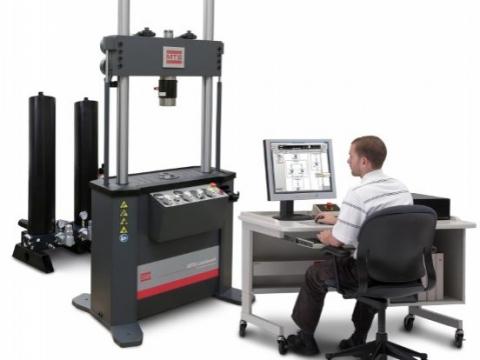 美國MTS Landmark系列液壓高頻疲勞動態萬能材料測試機