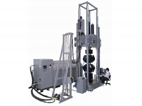 美國MTS 311系列液壓軸向動態土木結構材料測試機