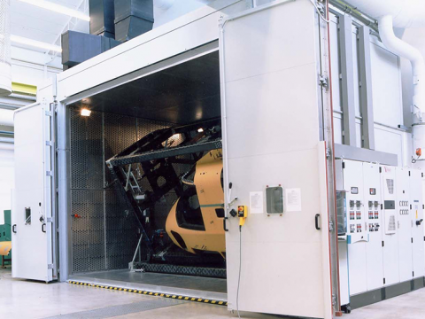 Solutions for big samples and goods: Heating chambers