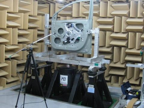 美國MB Dynamics異音試驗系統SQUEAK & RATTLE SUB-SYSTEM AND COMPONENT TESTING