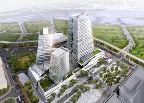 中國信託南港總部大樓2